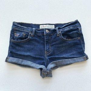 Hollister Jean Cut Off Shorts Womens Size 5